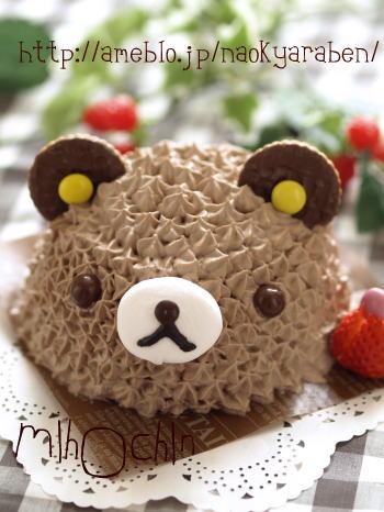 トトロケーキ , 誕生日やイベントに☆濃厚チョコのキャラケーキ♪