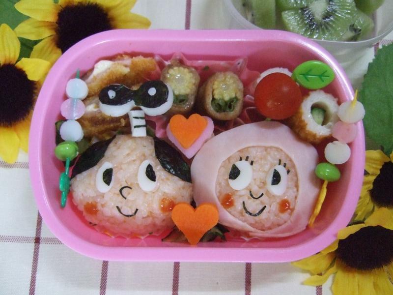 ぜんまいざむらい&ずきんちゃん – NHK子ども番組から仲良しこよしの二人♪