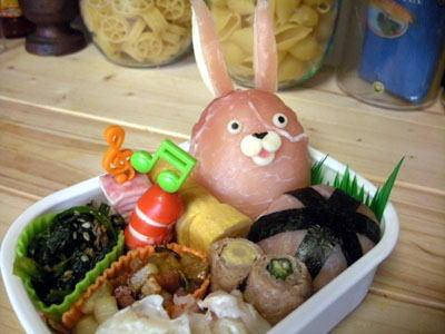 ウサビッチのお弁当 – 生ハムで囚人番号541番天然キャラ☆プーチン☆