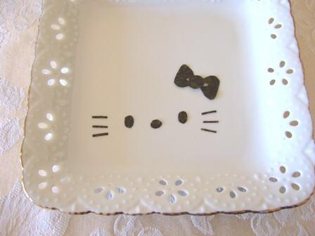 海苔のカット(キティ) – サンリオ・ハローキティのノリの切り方