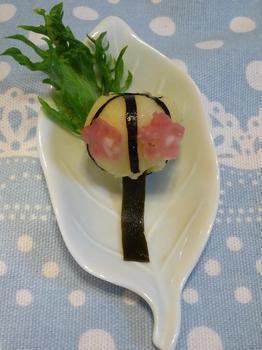 ぼんぼり – ひな祭り弁当に入れたい可愛いジャカイモのおかず♪