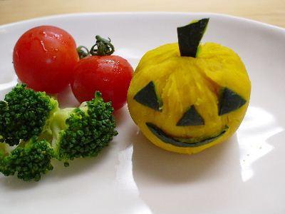 ハロウィン*ジャック・オ・ランタン – キャンドルじゃなくてかぼちゃとチーズ★
