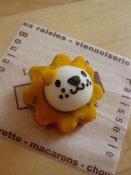 ライオンくん – うずらの卵でカワイイらいおん☆