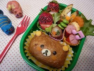 リラックマのおいなりさん – 癒し系の稲荷寿司♪