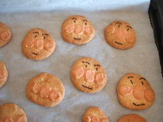 アンパンマンクッキー – ホットケーキミックス(HM)で簡単手作りキャラおやつ