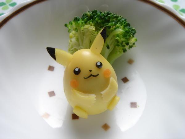 うずらの卵でメタボなピカチュウ – ポケットモンスター