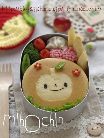 ツートン☆ホットケーキ – クッキングシートで可愛くデコ♪