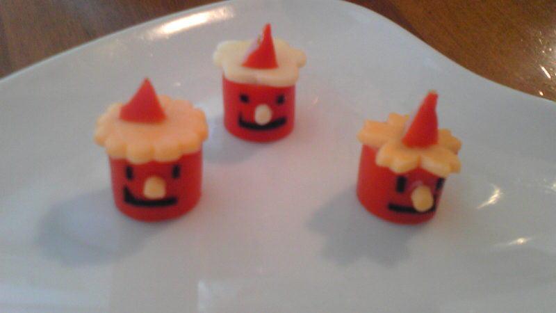 赤ウインナーで赤鬼弁当 – 節分のオニデコ