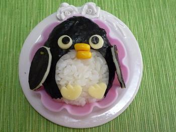 ペンギンおにぎりととなりのトトロ