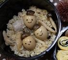 秋はうずらの卵でどんぐりころころ