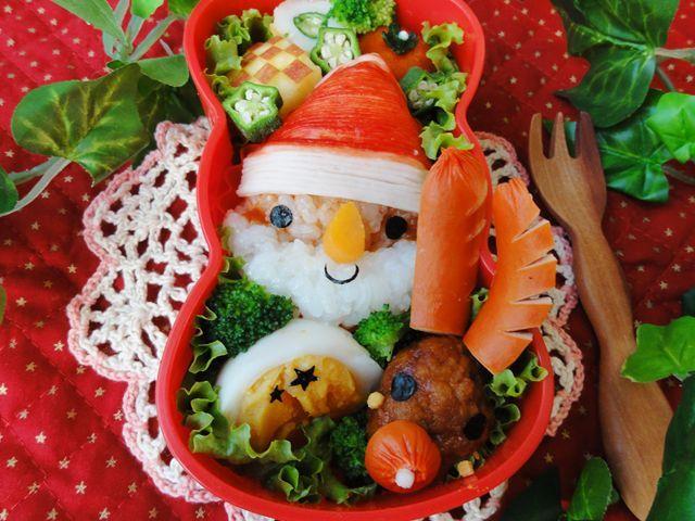 サンタさんおにぎりでメリークリスマス