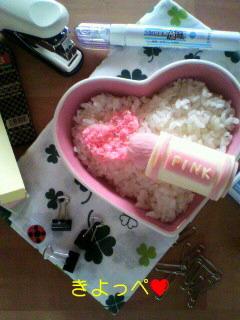 魚肉ソーセージでピンクなクレヨン