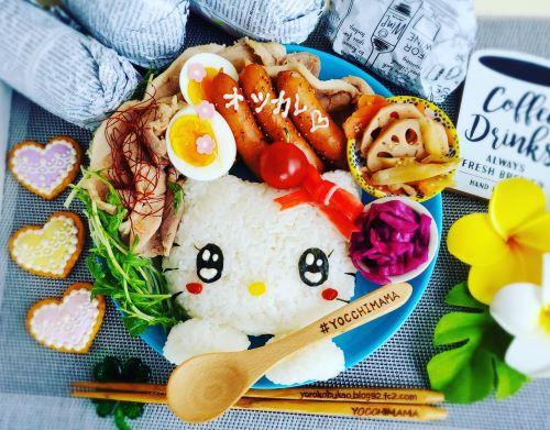 キラキラ☆キティちゃんランチプレート&町中華&札幌ラーメン名店☆