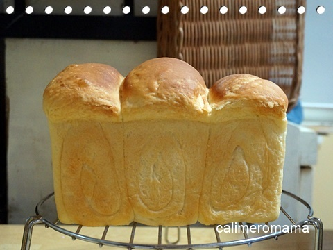 【パンいろいろ♪】 山型食パン
