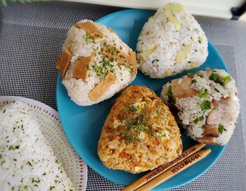 補食おにぎりレシピ♪&焼肉徳寿~札幌グルメ☆