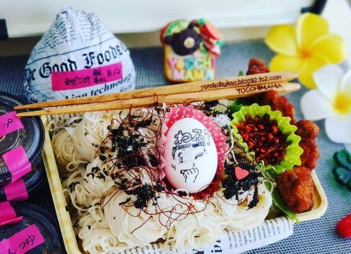 簡単ときめきトゥナイト☆麺弁当♪&りぼん🎀&札幌グルメ。。。おなじみ