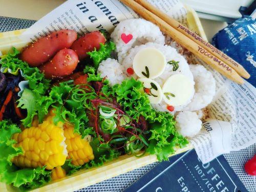 肉!ダッフィー弁当豚肉味噌漬け焼き&大阪グルメ☆
