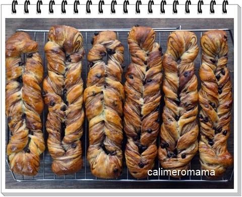 【パンいろいろ♪】 チョコスティック・丸パン・ココアチョコパン